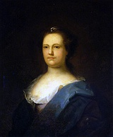 Deborah Read Franklin(c. 1759). Common-law wife of Benjamin Franklin
