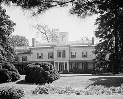 Doughoregan Manor, the Carroll family seat, now a National Historic Landmark