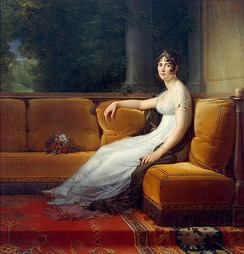 Madame Bonaparte at Malmaison in 1801 by François Gérard