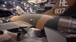 F-100F at Wright-Patterson National Air Force Museum