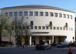 The Philadelphia Church in Stockholm, Sweden, is part of the Swedish Pentecostal Movement