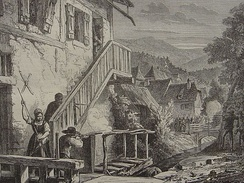 Francs-tireurs in the Vosges during the Franco-Prussian War.