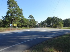 West end of SR 112 concurrency in Turner County.