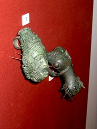 Bronze from the ninth century town of Igbo Ukwu, now at the British Museum.[29]