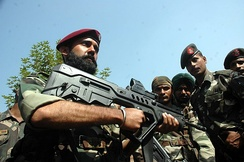 Elite soldiers of Indian Army's 9 Para Commandos