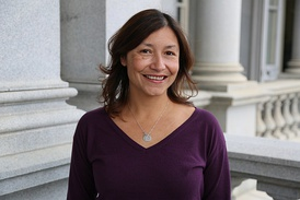 Julie Chavez Rodriguez the granddaughter of American labor leader, Cesar Chavez and American labor activist Helen Fabela Chávez became the director of the White House Office of Intergovernmental Affairs in 2021.