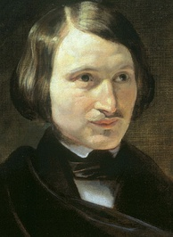 One of several portraits of Gogol by Fyodor Moller (1840)