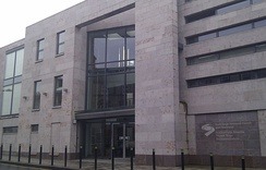 The offices of the North/South Ministerial Council on Upper English Street, Armagh
