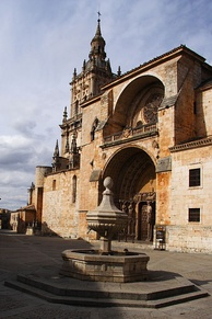 Burgo de Osma Cathedral. The province of Soria is one of the areas with the lowest population density of Europe.