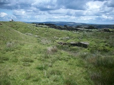 Oswaldtwistle Moor, part of the West Pennine Moors, in Lancashire, UK