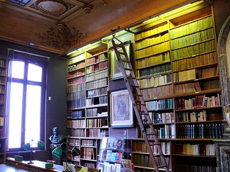 Thiers' personal library in the Hôtel Thiers
