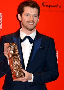 Pierre Deladonchamps, Most Promising Actor winner.