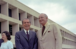Presidents Lyndon B. Johnson and Richard Nixon favored self-determination instead of termination.
