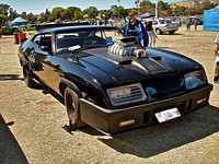 "Replica of the Mad Max ""Pursuit Special"""