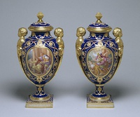 Vases made for Louis XVI, 1778-82.
