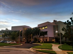 Building C houses the departments of Neurobiology, Cancer Biology, and Infectious Disease at Scripps Research's Florida campus.