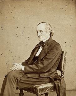Sir Richard Owen opposed Hooker in his planned expansion of Kew Photograph: Ernest Edwards, 1867