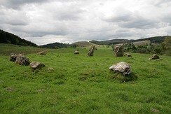 The Loupin' Stanes stone circle - geograph.org.uk - 811307.jpg