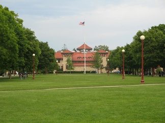 The Queens College quad