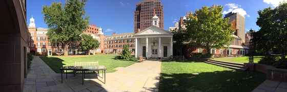 Timothy Dwight College courtyard