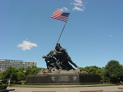 Marine Corps War Memorial, Arlington, Virginia