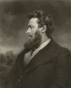 Walter Bagehot, an influential theorist on the economic role of the central bank.