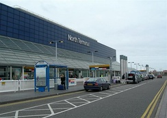 Exterior of the North Terminal before renovation