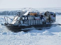 Экспедиция на Таймыре на 2 судах воздушной подушке Хивус-10 в апреле 2013 года