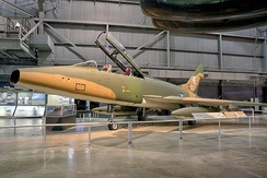 F-100F at the USAF Museum