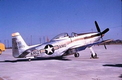 197th Fighter Squadron F-51H Mustang, AF Ser. No. 44-64455