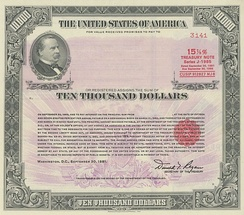1981 $10,000 15.875% Registered Note