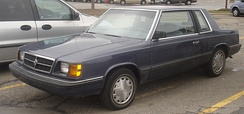1985–1989 Dodge Aries coupe