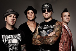 Avenged Sevenfold in 2011