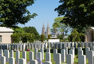 The Bayeux Commonwealth war cemetery