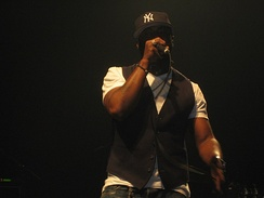 Rapper Black Thought is the lead vocalist of The Roots.