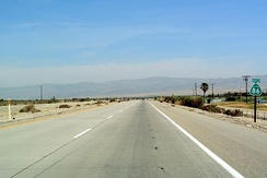 State Route 86 north of Salton City