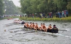 Bumps race on the River Cam