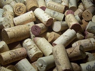 Assorted wine corks