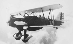 Curtiss P-6E Hawk of the 17th Pursuit Squadron
