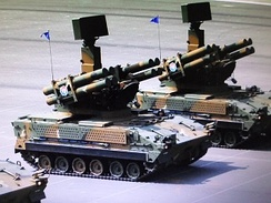 Doosan Chunma self-propelled surface-to-air missile system