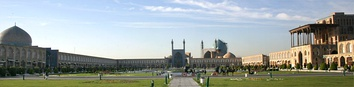 Naqshe Jahan square in Isfahan is the epitome of 16th-century Iranian architecture.