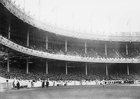 Polo Grounds crowd at Game 1