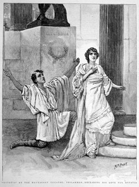 The play Hypatia, performed at the Haymarket Theatre in January 1893, was based on the novel by Charles Kingsley.[207]