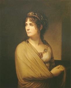Portrait of Joséphine later in life by Andrea Appiani