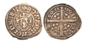 Long cross penny with portrait of Edward