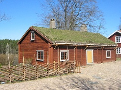 Birthplace at Råshult