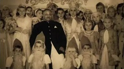 Maharaja Jam Sahib celebrates Christmas with Polish children he rescued from Soviet camps, 1943
