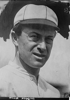 Huggins with the St. Louis Cardinals in 1912