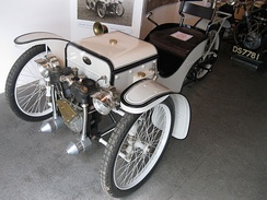 Single-seat Morgan Runabout, similar to HFS Morgan's 1909 car