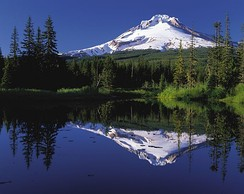 Mount Hood is the tallest point in the U.S. state of Oregon.